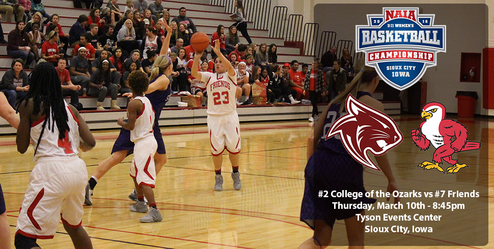 Photo for Women's Basketball to Face College of the Ozarks at NAIA Tournament