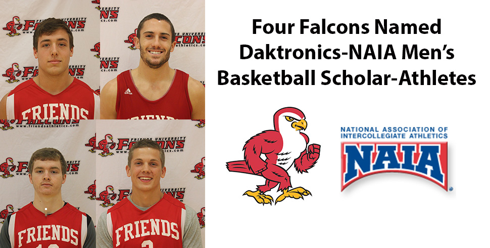Photo for Four Falcons Named Datronics-NAIA Men's Basketball Scholar-Athletes