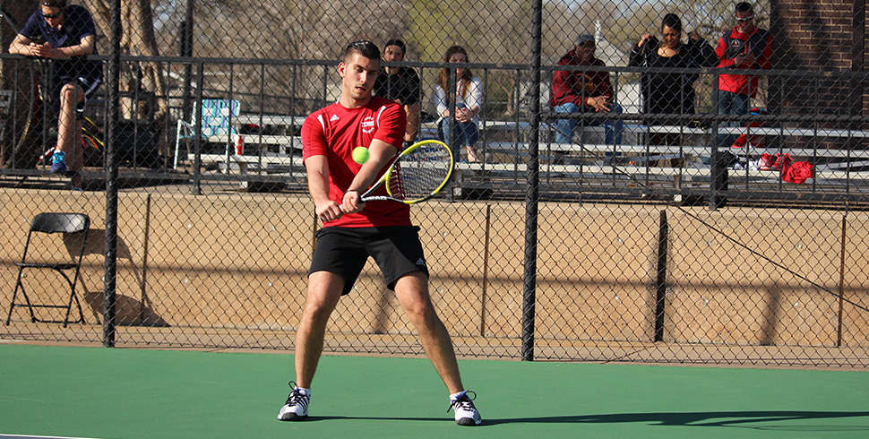 Photo for Women's Tennis Defeated by (RV) Southwestern, Men Rally for Victory