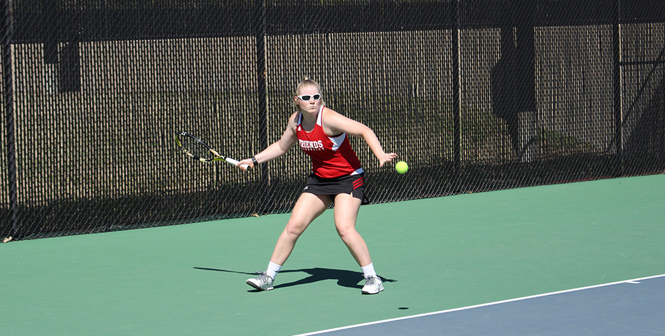 Photo for Tennis Wraps Up Regular Season by Dominating Oklahoma Wesleyan