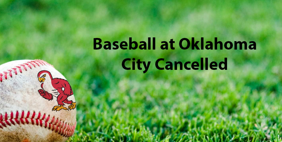 Photo for Baseball at Oklahoma City Tuesday Cancelled