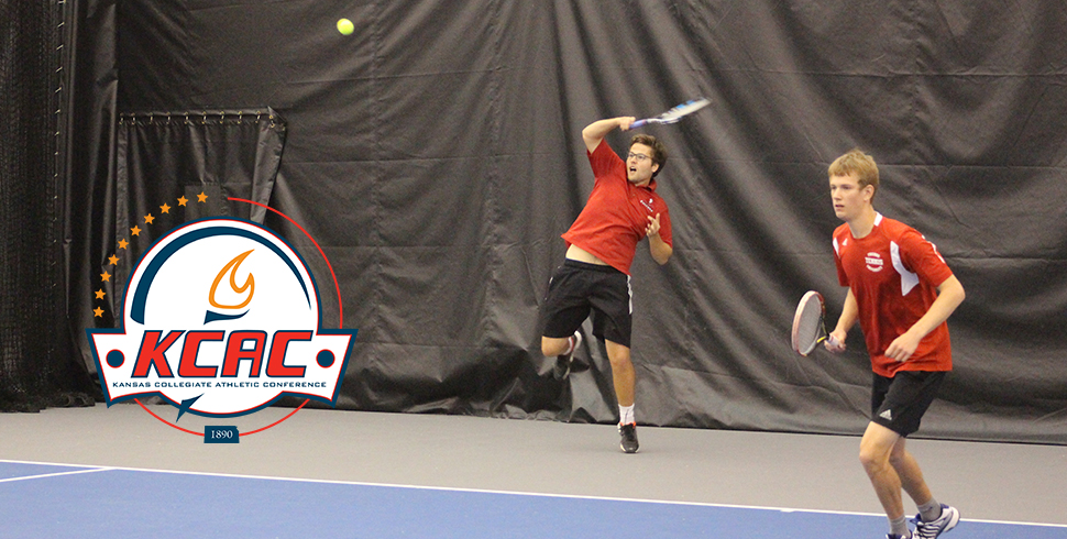 Photo for Men's Tennis Blanked in KCAC Semifinals