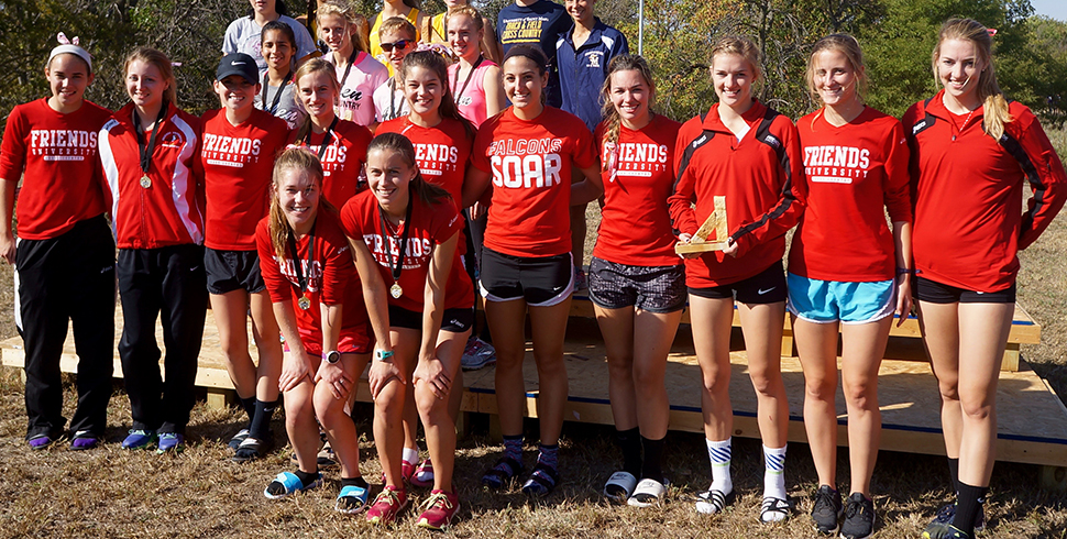 Photo for Women's Cross Country Adds Fort Hays State Tiger Open to 2015 Victory List