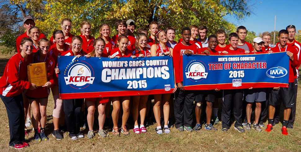 Photo for Women's Cross Country Wins KCAC For Third Time in Five Years
