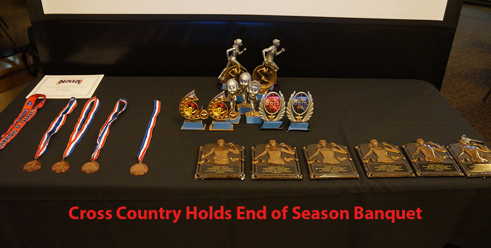 Photo for Cross Country Holds End of Season Awards Banquet