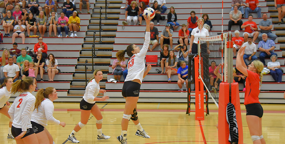 Photo for Balanced Attack Propels Volleyball to Sweep of McPherson