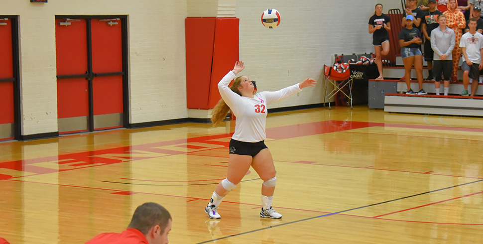 Photo for Volleyball Dominates Bethel in KCAC Sweep