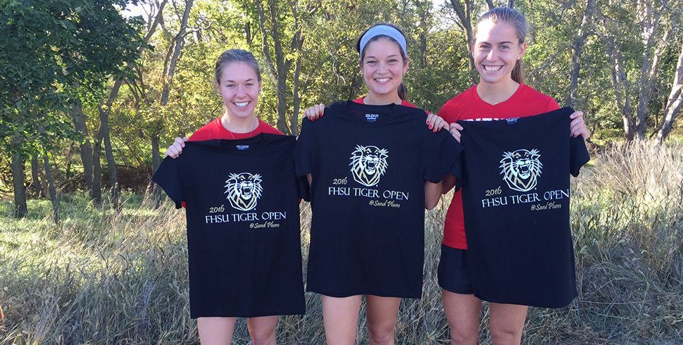 Photo for Women's Cross Country Places 2nd at FHSU, Men 9th