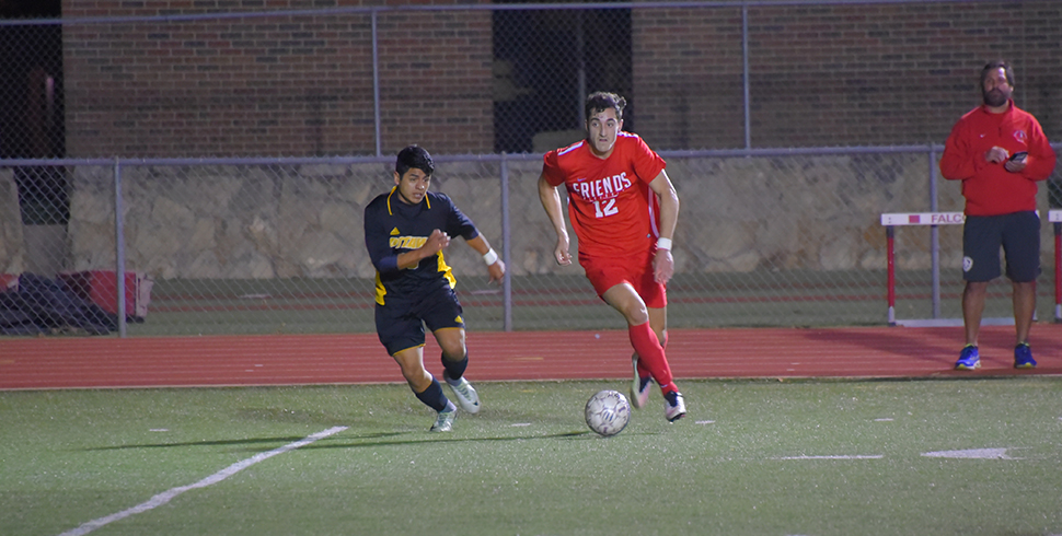 Photo for Pirates Strike Late to Slip By Men's Soccer Falcons, 2-1