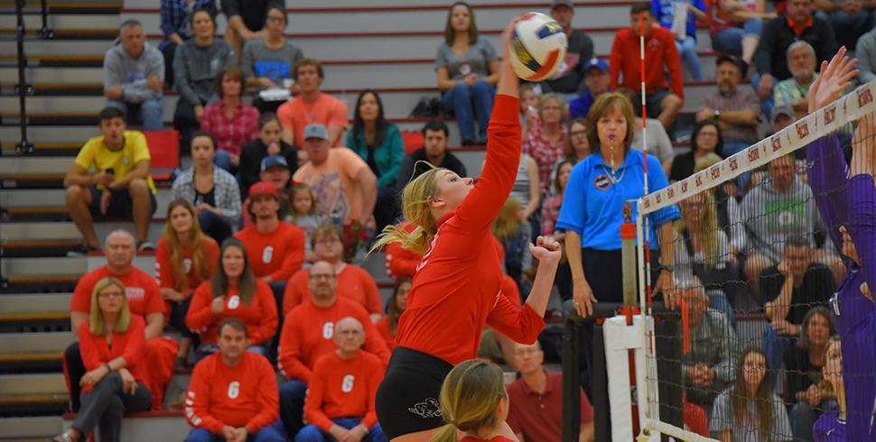 Photo for Volleyball's Season Ends in KCAC Quarterfinals