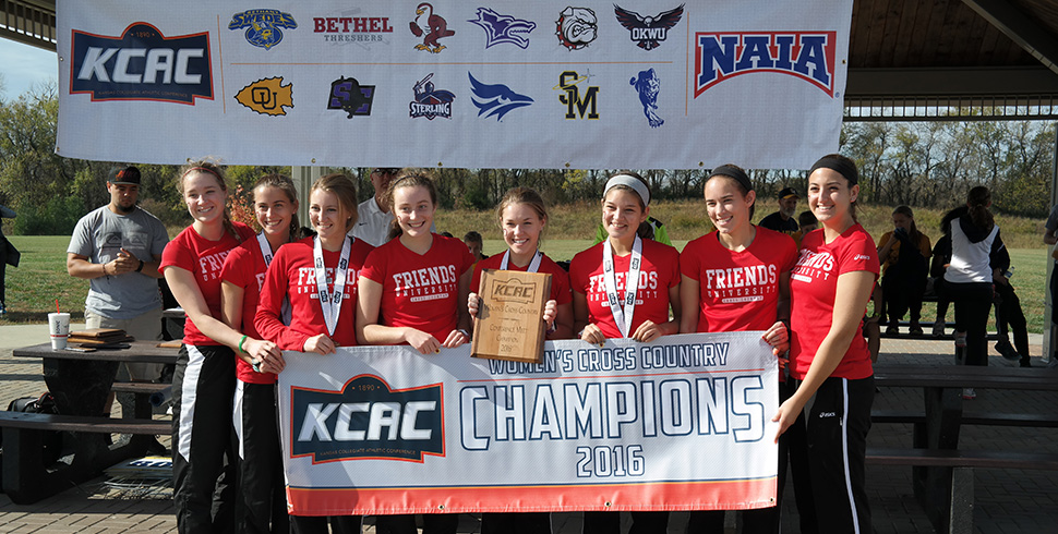 Photo for Women's Cross Country Wins Fourth KCAC Title in Six Years