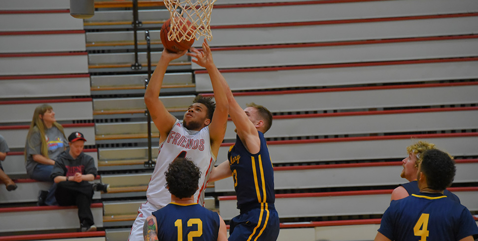 Photo for Men's Basketball Upends #24 Saint Mary 84-80