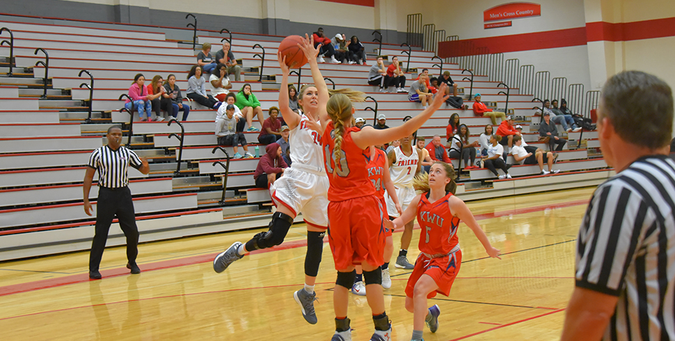 Photo for #15 Women's Basketball Forces 40 Turnovers in Blowout of Bethany