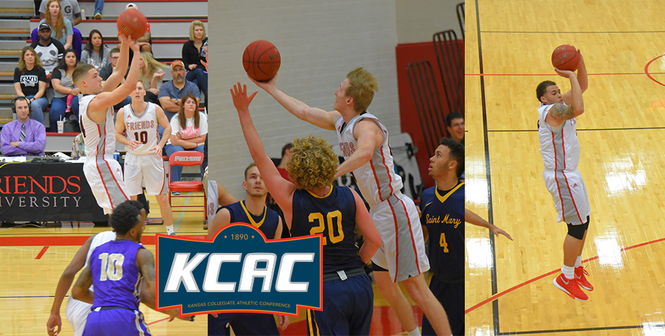 Photo for Baxter, Murdock and Steadman Earn Men's Basketball All-KCAC Honors