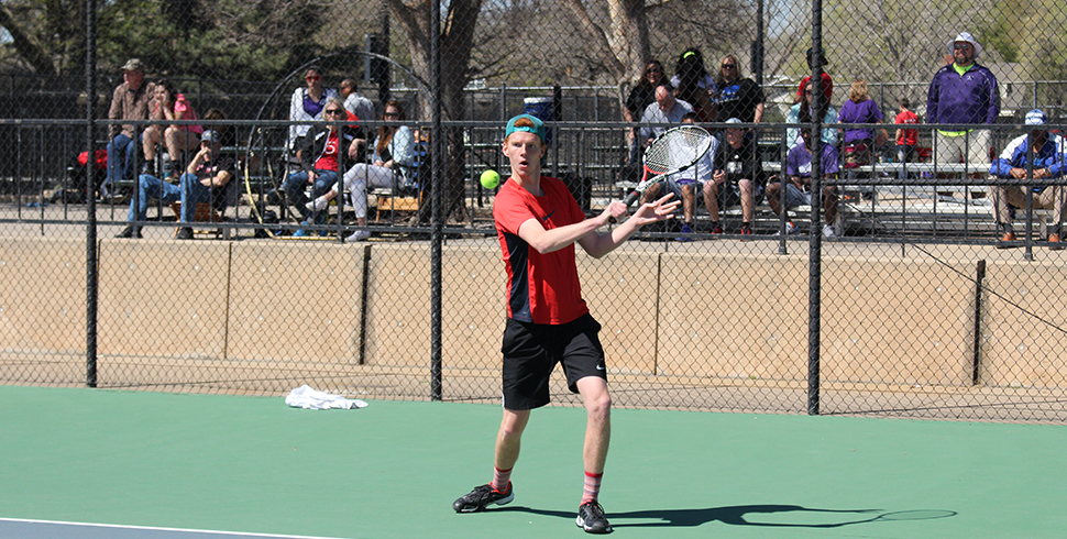 Photo for Men's Tennis Earns First Win