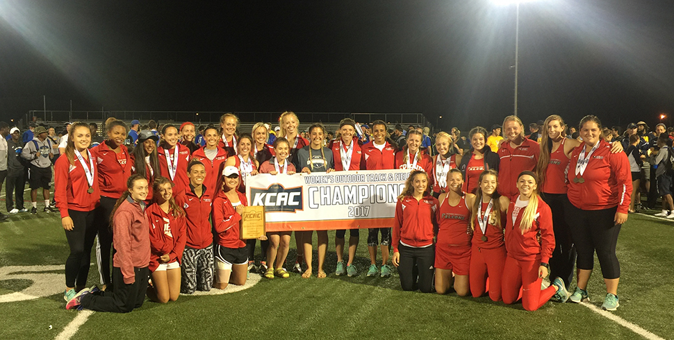 Photo for Women's Track & Field Wins Third Straight KCAC Outdoor Title