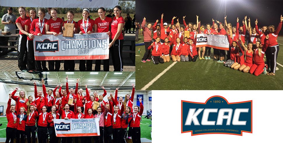 Photo for Moment #4 of 2016-2017: Falcon Women Earn Second Straight KCAC Triple Crown