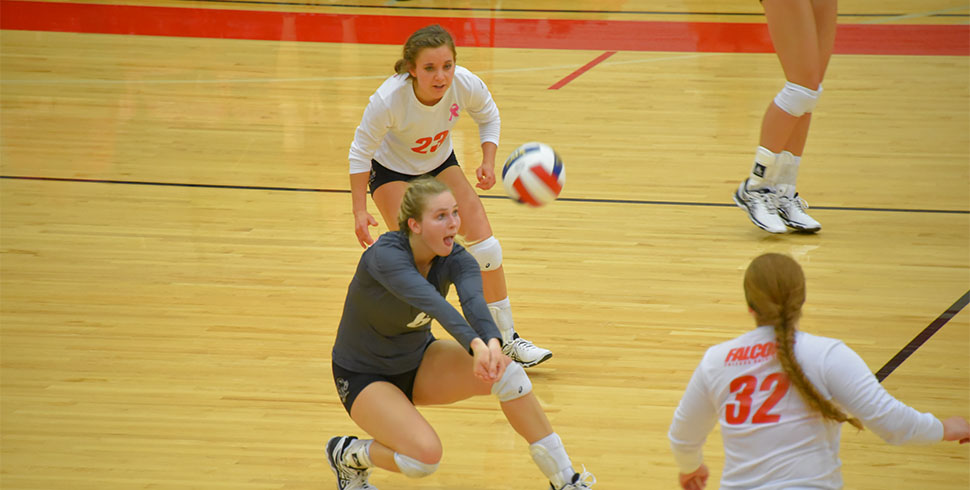 Photo for VB Falcons Suffer First KCAC Loss in 3-0 Setback at St. Mary